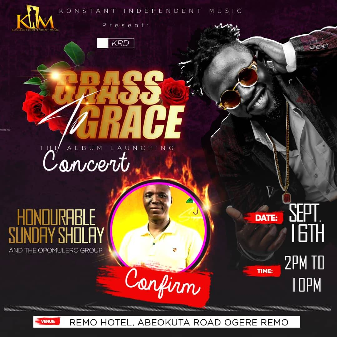 Omooba Sunday Solarin at the Grass to Grace Concert