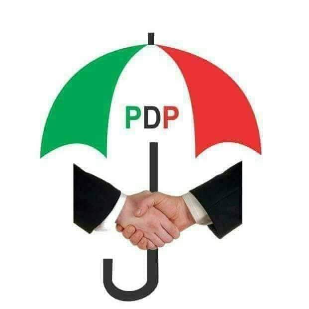 Peoples Democratic Party - PDP Logo with Handshake