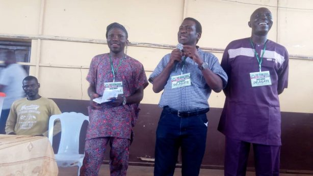 Ogun-East Senatorial Chairman, Arch Kayode Adebayo during the primary election at Ikenne express his satisfaction on the choice of Omooba Sunday Solarin , said He remain the best candidate to represent the party at the state Assembly
