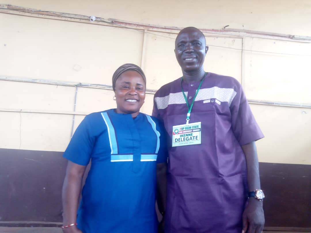 Yeye Adenike Adebutu at the congress said Sunday Solarin stand tall among his equals and enjoy everybody to work so hard to ensure victory for the party