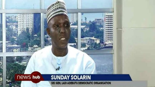 Omooba Sunday Solarin at SilverBird TV discussing Ogun PDP Crisis