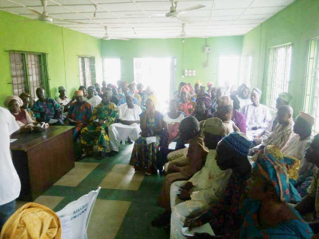 Cross-Section of Party Faithfuls at the Inauguration of Ikenne LG PDP Caretaker Committee
