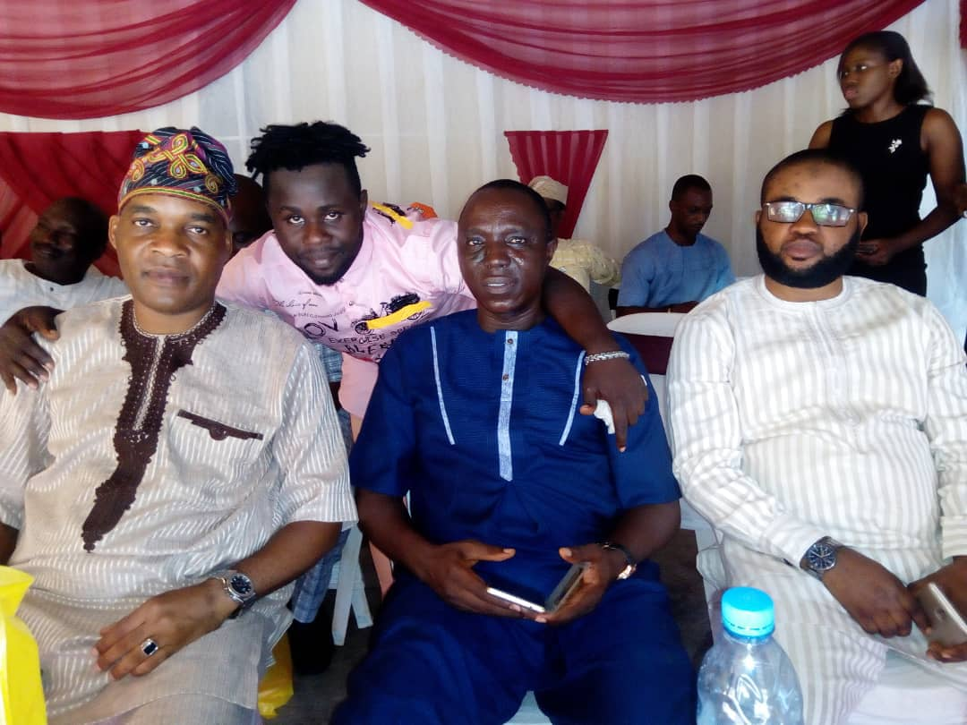 From left - Hon Tola Belgium, KRD, Omooba Sunday Solarin and Mr Niyi Ojuade