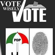 Vote Wisely Vote PDP