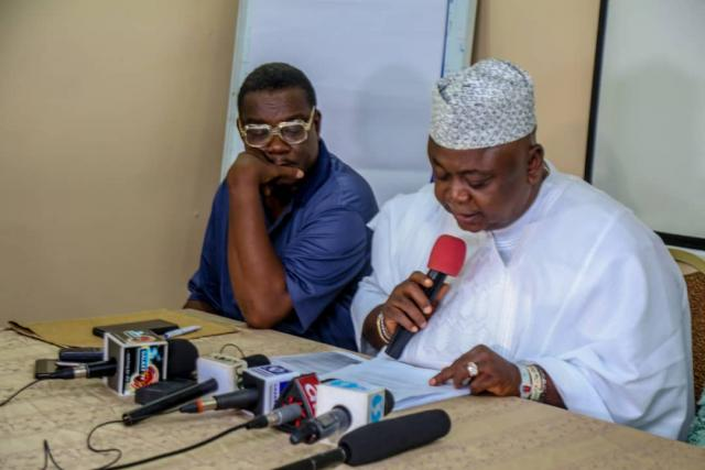 Hon Ladi Adebutu's Press Brief against INEC decision on Ogun PDP Gubernatorial Candidacy for 2019 General Elections
