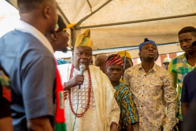 A community leader appreciates Hon Ladi on his humanitarian gestures throughout the state