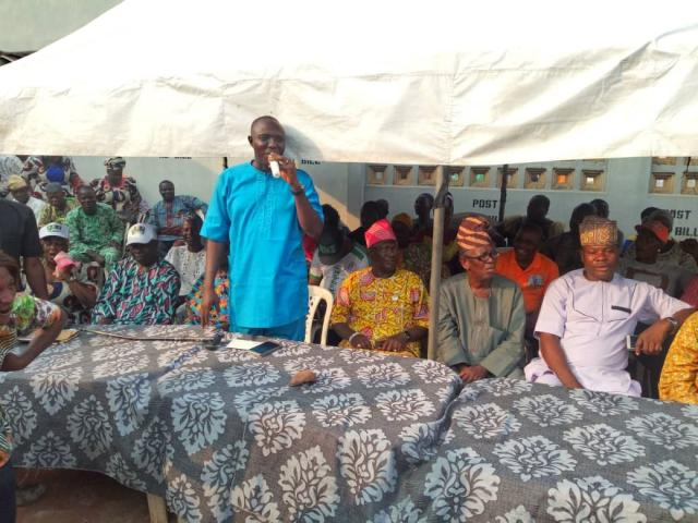 Omooba Sunday Solarin assures party faithfuls of his desire to offer quality representation