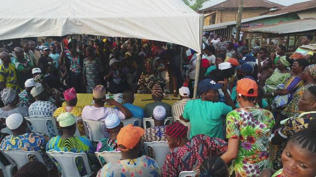 PDP Members and Residents from Ward 9 Ilishan Remo pledge their Support for Omooba Sunday Solarin