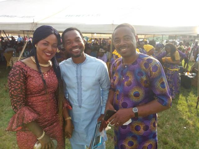 From right - Dr Koyejo Oyegunwa, Mr Segun Ashiru and Princess Aanuoluwapo Babington-Ashaye